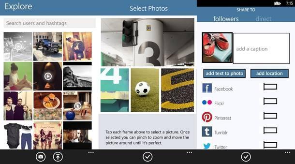 pictastic instagram cliente windows phone img2