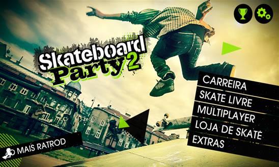skateboard party 2 jogo windows phone img3