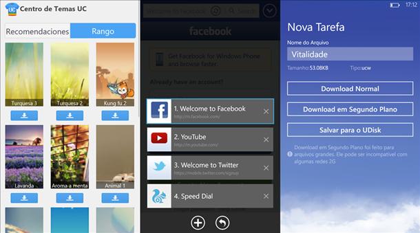 UC browser windows phone app principal 2