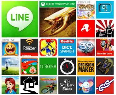 windows-phone-store 200 mil apps