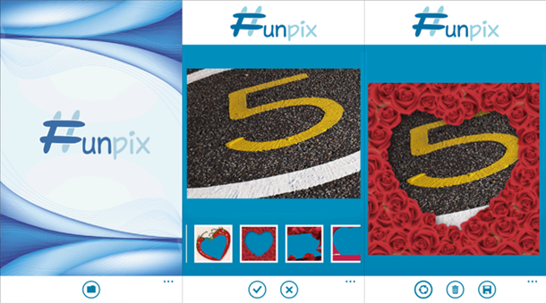funpix app windows phone principal