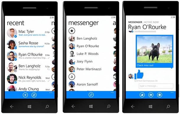 facebook messenger vazou windows phone joe belfiore apresentacao2