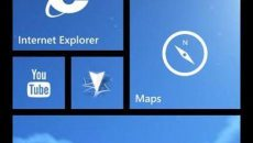 O plano de fundo no Windows Phone 8.1 pode ser para as Live Tile e não para o fundo da tela