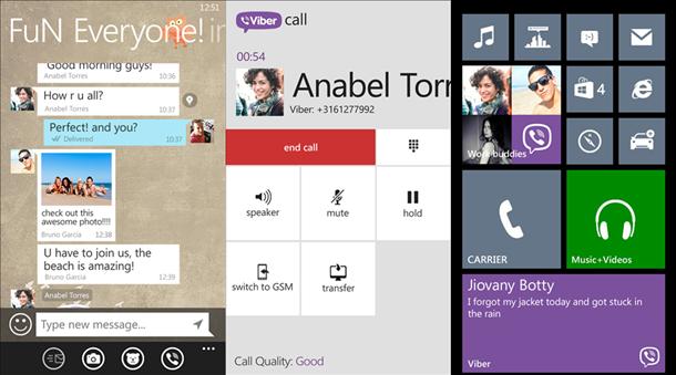 viber app windows phone 8