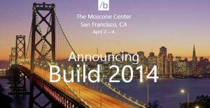 Convite da Build 2014