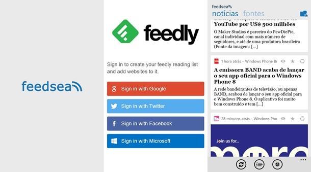 O Cliente Feedly Feedsea foi atualizado e ganhou diversas novidades