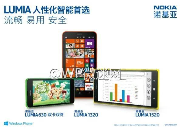 nokia lumia 630 revelado