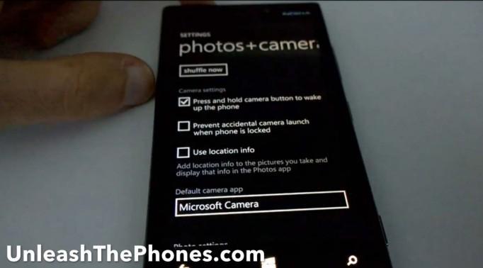 novo app camera windows phone 81 blue