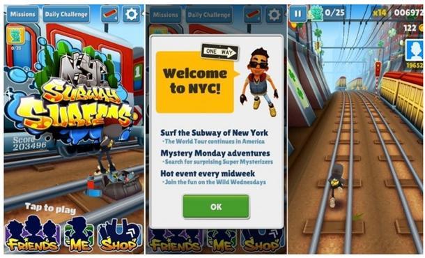 subway surfers jogo windows phone