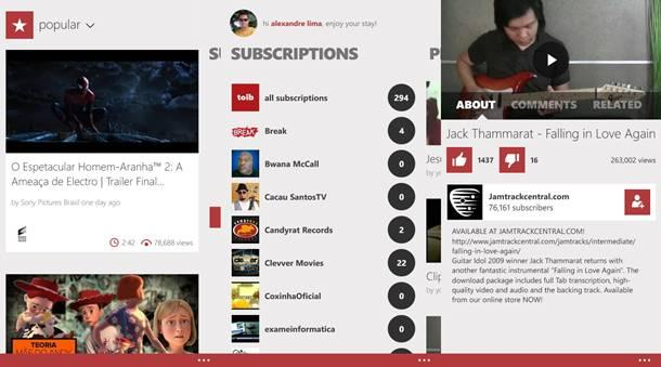 toib youtube player app windows phone img2