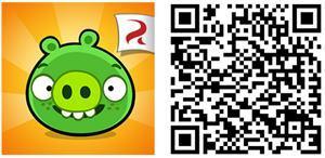 bad piggies jogo windows phone rovio qr code