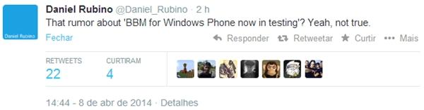 bbm para windows phone em breve aplicativo rumor falso