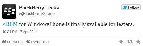 bbm para windows phone em breve aplicativo