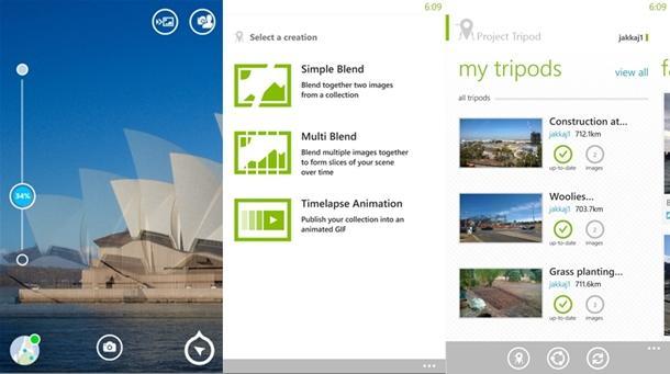 project tripod app windows phone 8