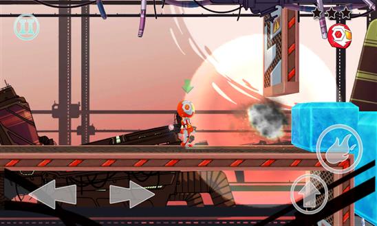 Robot Bros jogo windows phone img2