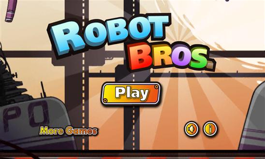 Robot Bros jogo windows phone logo img