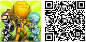 Robot Bros jogo windows phone logo qr code