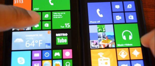windows phone 8 vs windows phone 81 preview