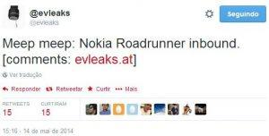 eveleaks nokia roadrunner gadget
