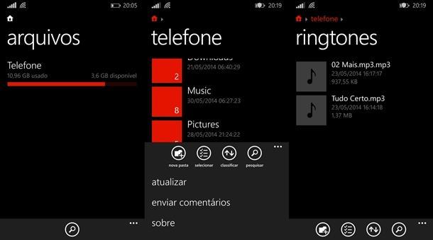 gerenciador de arquivos windows phone 81 oficial