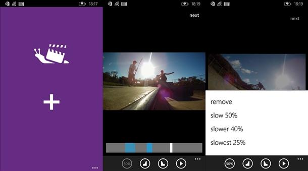 slowly app camera lenta windows phone