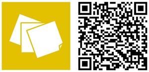 sticky notes HD app windows phone QR Code
