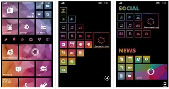 transparent icons app windows phone img2