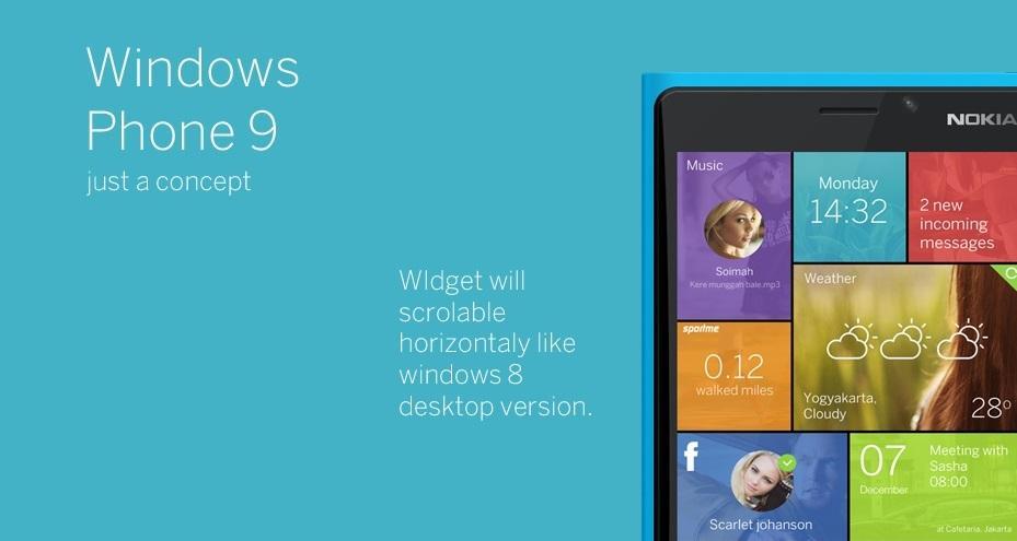 windows phone 9 conceito