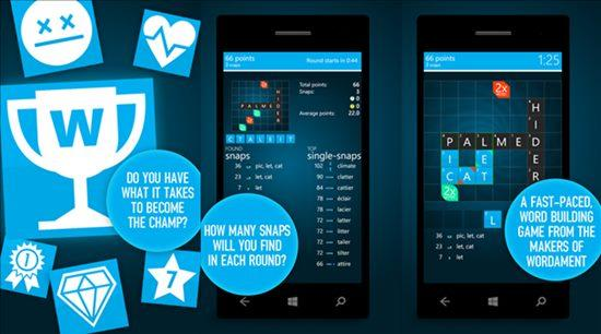 wordament snap attack game windows phone e windows img11