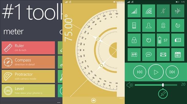 1toolkit app windows phone