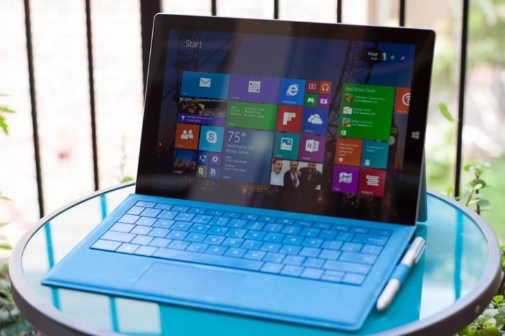 Surface pro 3 table windows microsoft