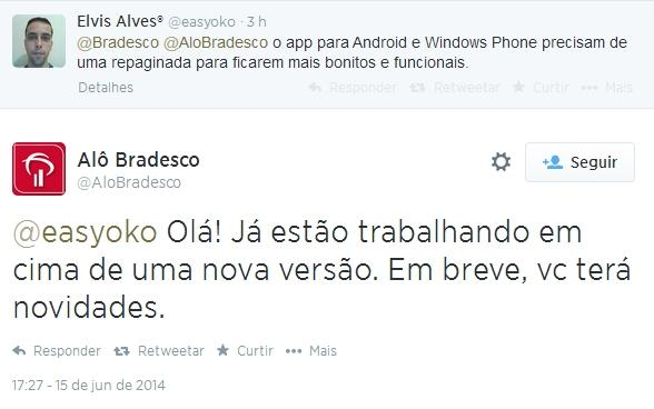 bradesco windows phone app update