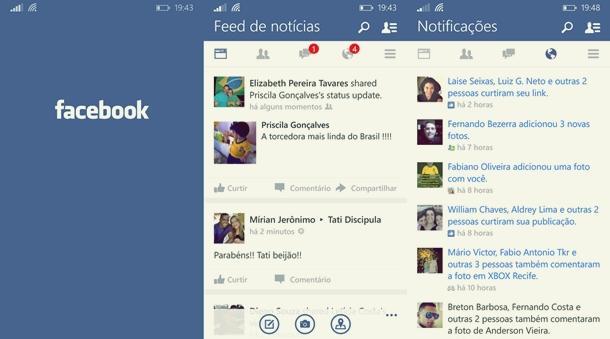 facebook beta app windows phone atualizado img