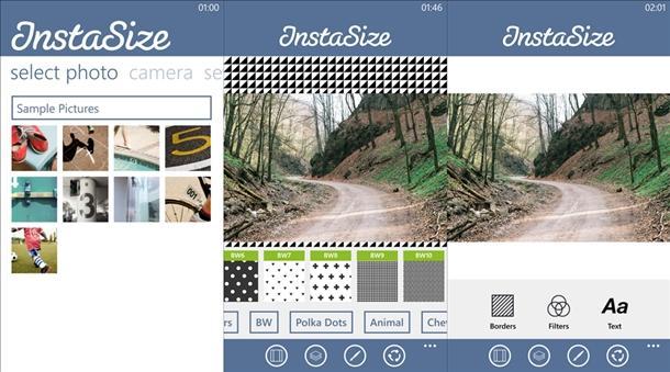 instasize app instagram windows phone