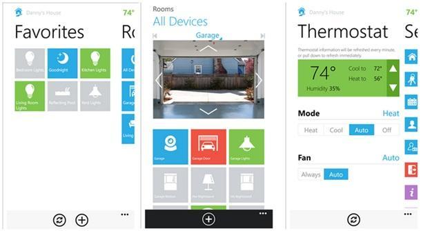 insteon app windows phone img
