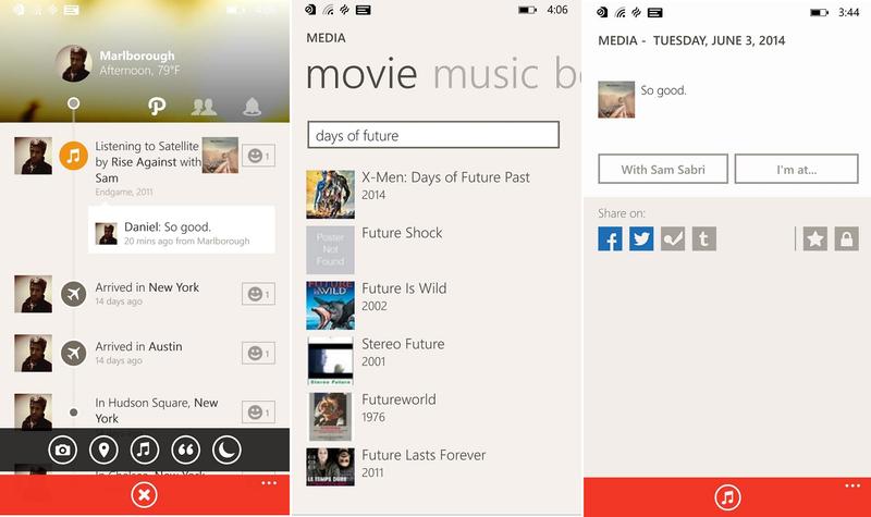 Path app oficial windows phone img3
