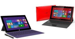 surface pro nokia lumia 2520 tablet windows rt