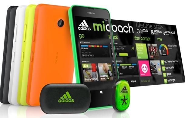 Aplicativo miCoach da Adidas para o Windos Phone