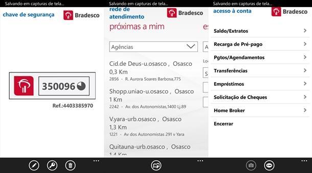 bradesco app banco oficial windows phone img2