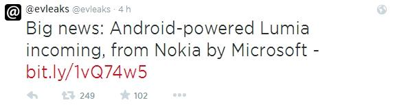 evleaks nokia lumia by microsoft com android