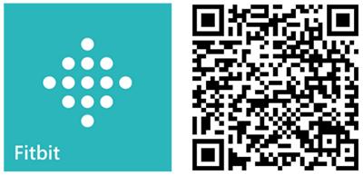 fitbit app oficial windows phone qr code