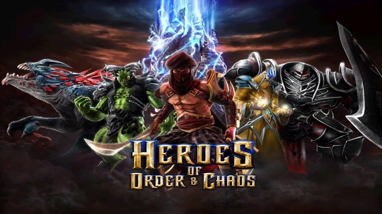 heroes of older & chaos game windows phone header