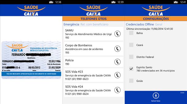 saude caixa app windows phone img12