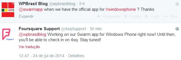 swarm app for windows phone by foursquare coming soon