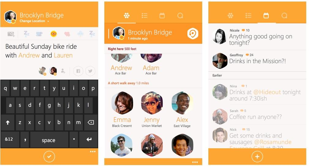 swarm by foursquare oficial windows phone img