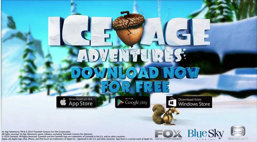 a era do gelo aventuras jogo windows phone img2