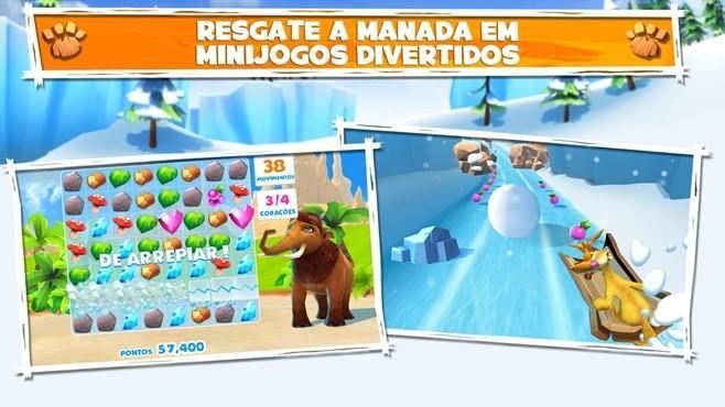 a era do gelo aventuras jogo windows phone img3