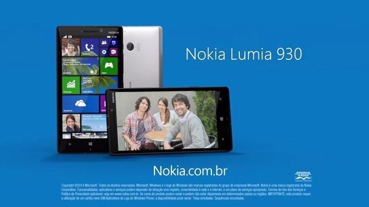 comercial nokia lumia 930
