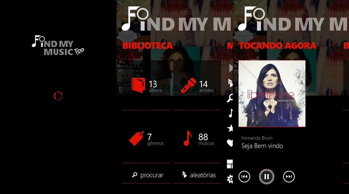 find my music too app windows phone img1