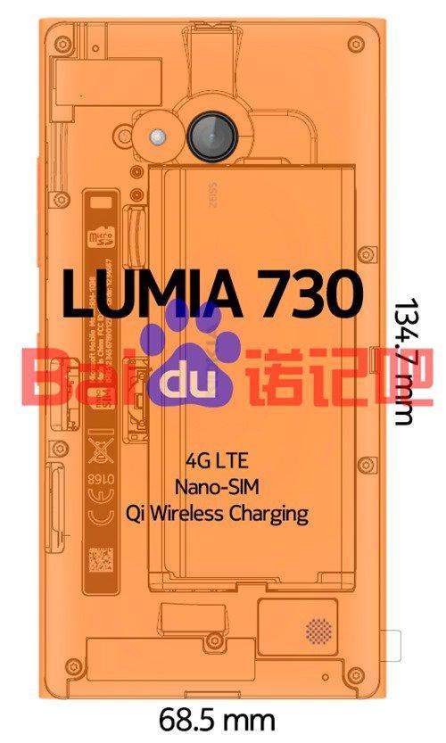 lumia 730 hardware